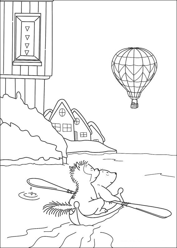 Kids N Fun De 38 Ausmalbilder Von Lars Der Kleine Eisbär Abenteuer