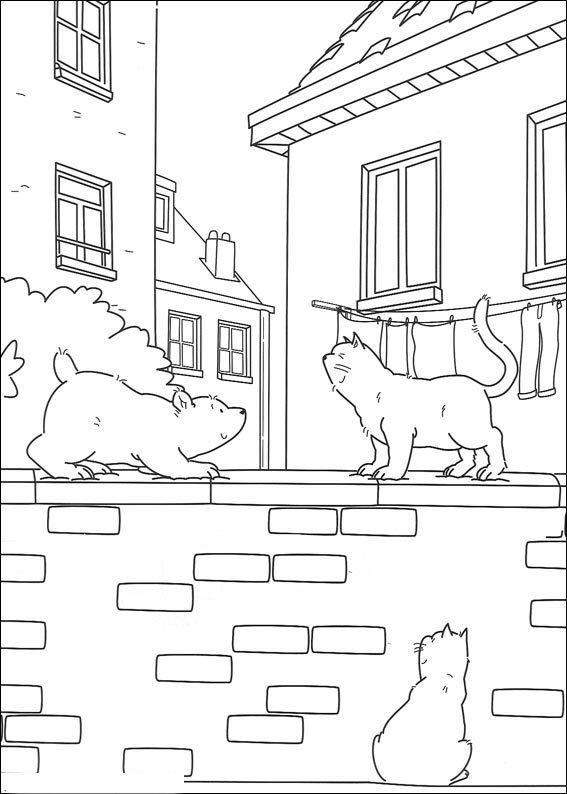 Kids-n-fun.de | 38 Ausmalbilder von Lars der kleine Eisbär Abenteuer