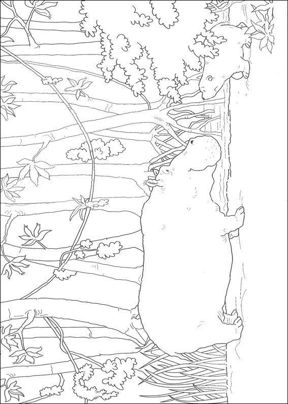 kidsnfunde  malvorlage lars der kleine eisbär