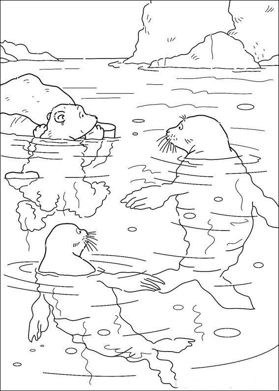 Kids-n-fun.de | 21 Ausmalbilder von Lars der kleine Eisbär