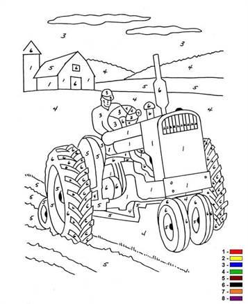 kids-n-fun.de | 12 ausmalbilder von malen mit nummern