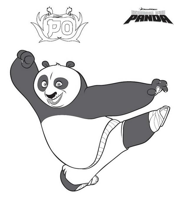 kidsnfunde  malvorlage kung fu panda kung fu panda