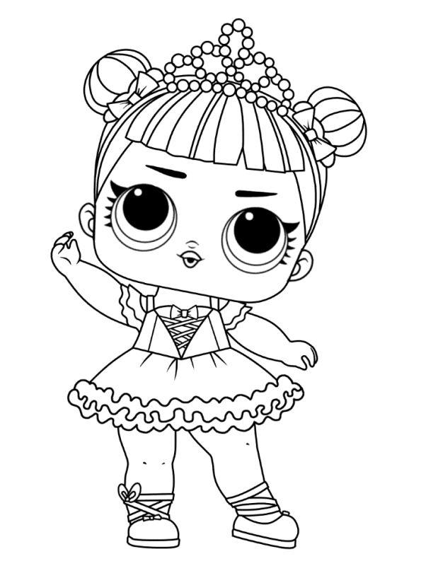 Kids N Fun De 30 Ausmalbilder Von L O L Surprise Dolls