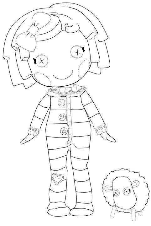lalaloopsy babies coloring pages - photo#13