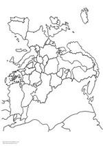 n 6 ausmalbilder landkarten