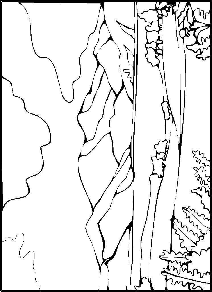 Landschap likewise Manzara Boyama Sayfalari furthermore Plate Clipart Coloring Page together with Coloring Page Canyon Dl in addition Detailed Landscape Coloring Pages For Adults Color Bros. on desert landscape coloring pages