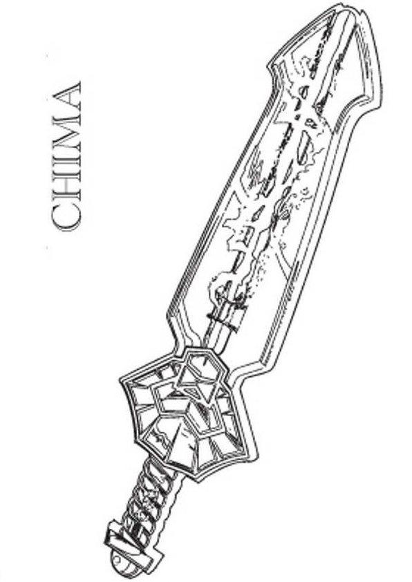 kidsnfunde  malvorlage lego chima lego chima lennox sword