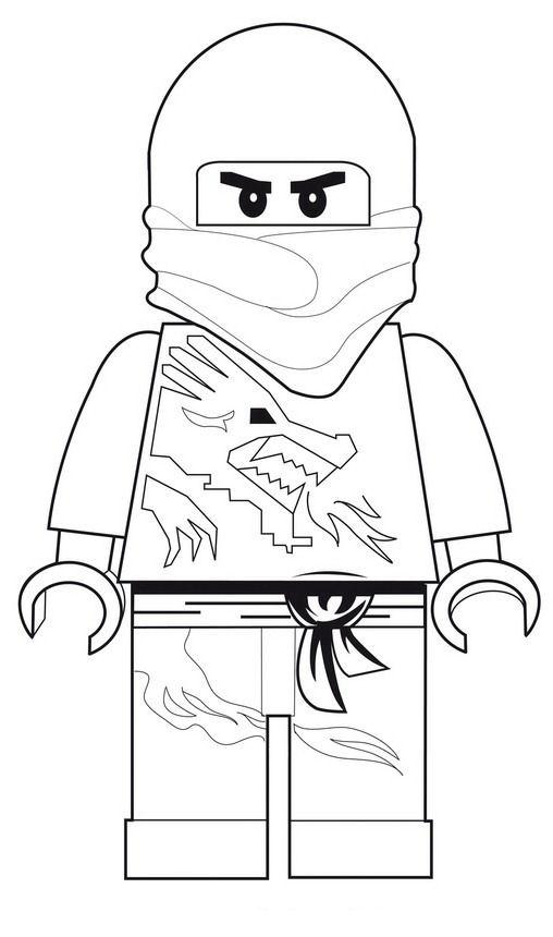 kidsnfunde  42 ausmalbilder von lego ninjago