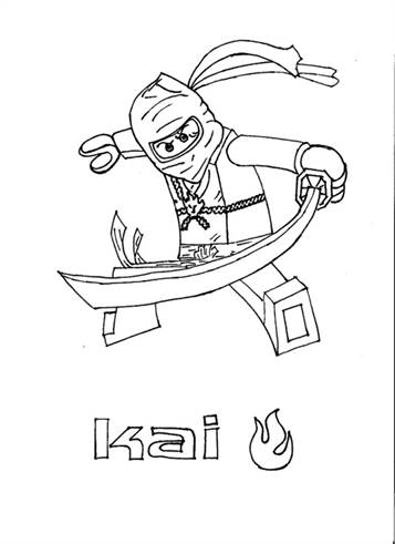 kids-n-fun.de | 42 ausmalbilder von lego ninjago