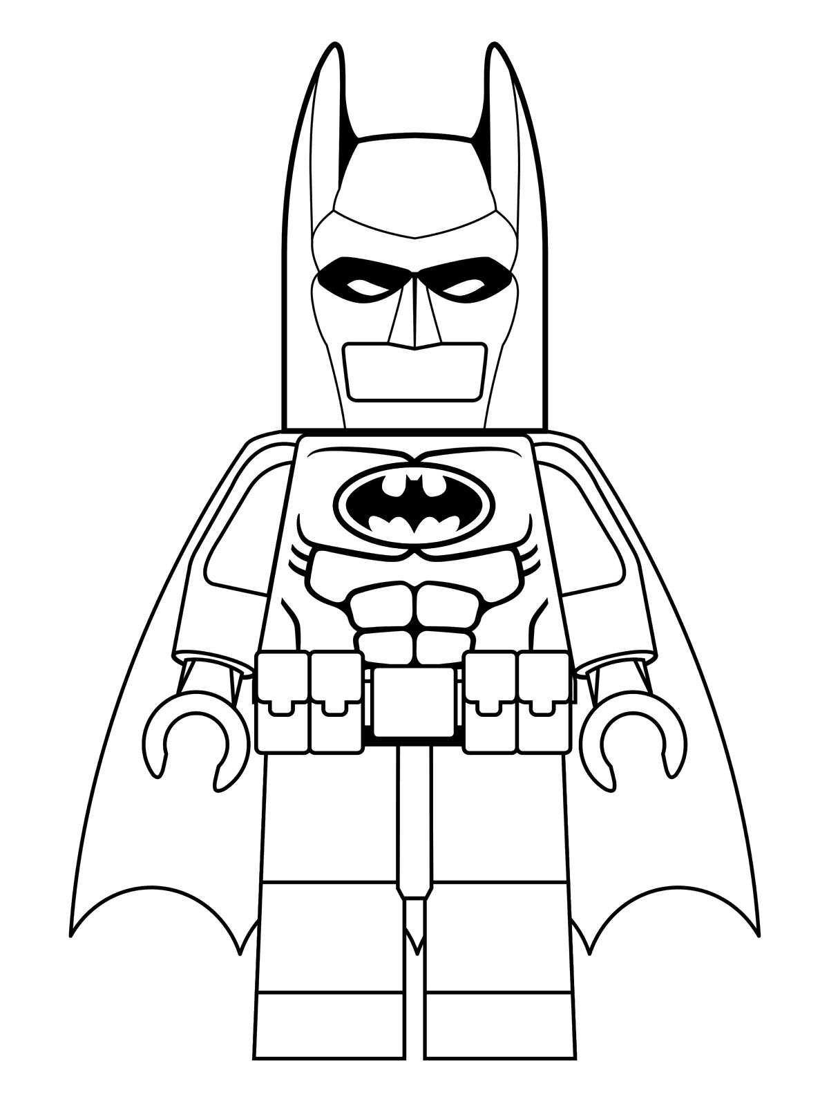 Kids n fun.de | 16 Ausmalbilder von Lego Batman Movie