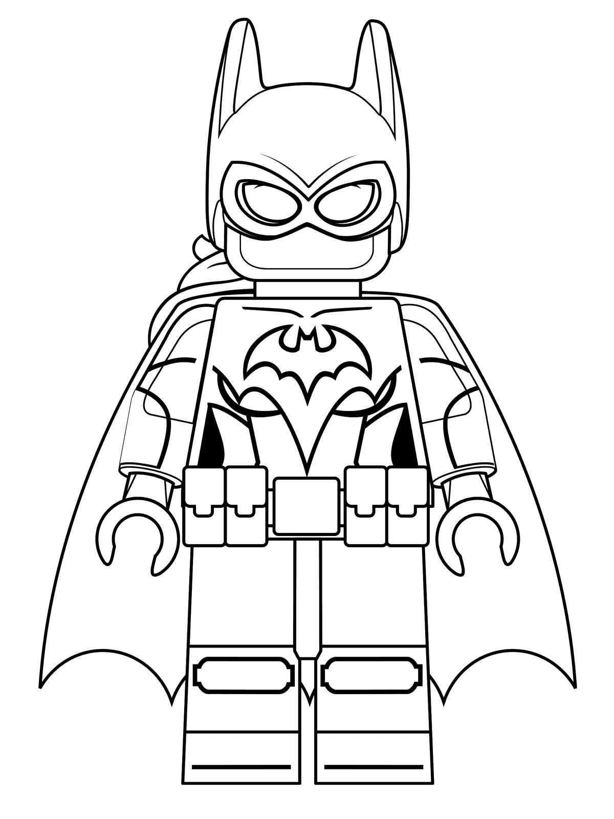 kidsnfunde  16 ausmalbilder von lego batman movie