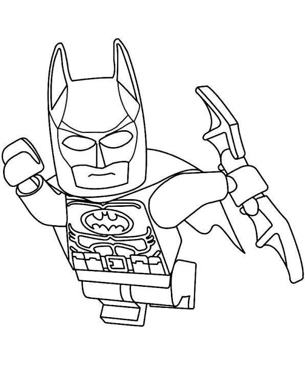 Superhelden Avengers Ausmalbilder: 16 Ausmalbilder Von Lego Batman Movie