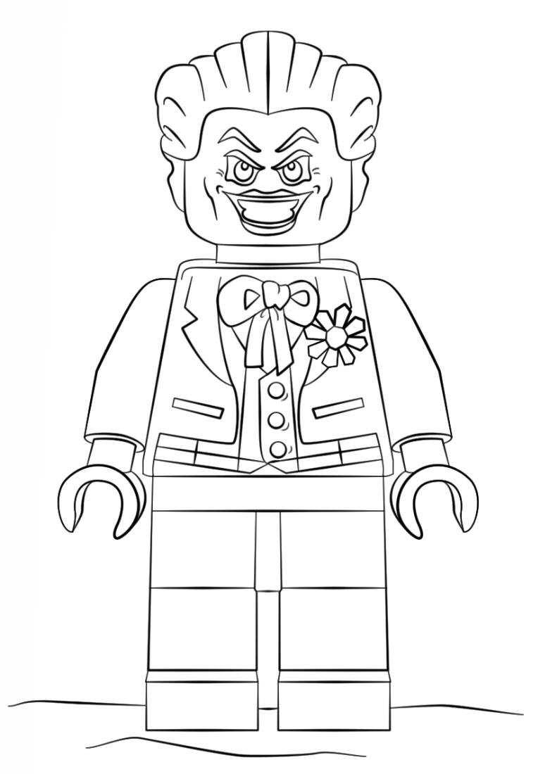 kids-n-fun.de   16 ausmalbilder von lego batman movie