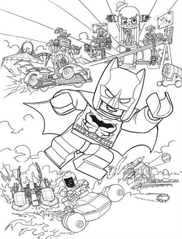 Kids N Fun De 16 Ausmalbilder Von Lego Batman Movie