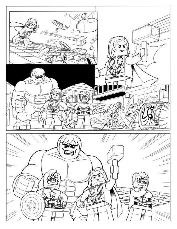 kidsnfunde  malvorlage lego marvel avengers avengers p10