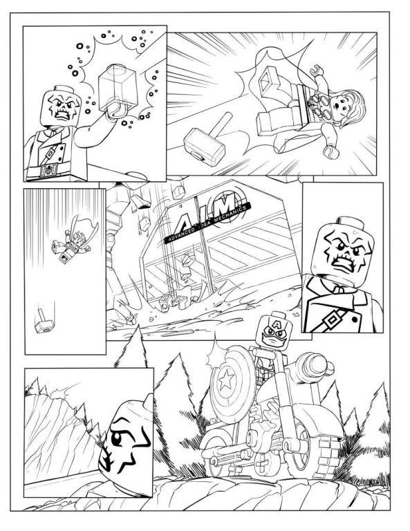 kidsnfunde  malvorlage lego marvel avengers avengers p3