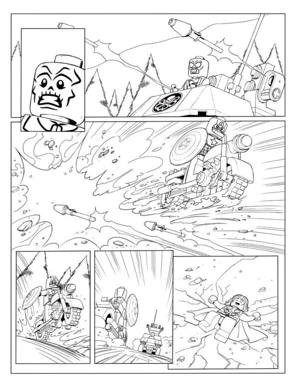 kidsnfunde  malvorlage lego marvel avengers avengers p4