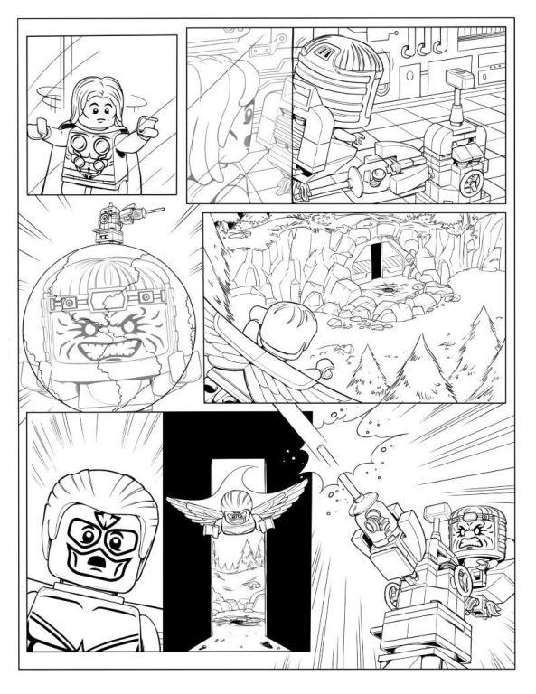 kidsnfunde  malvorlage lego marvel avengers avengers p7