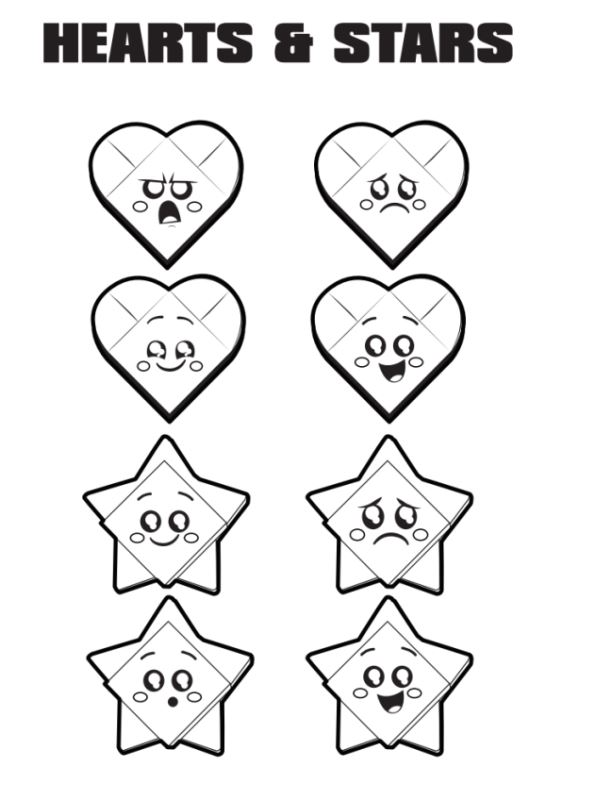 Kids N Funde Malvorlage Lego Movie 2 Hearts Stars