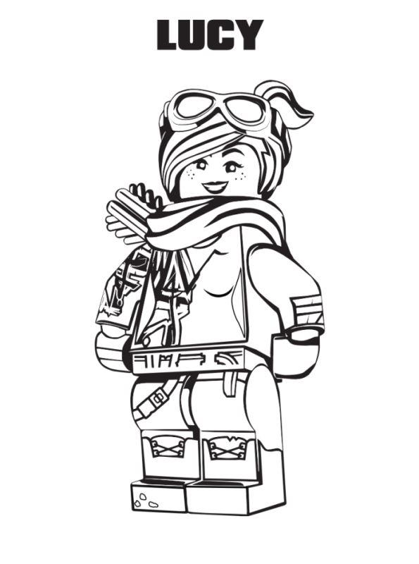 Kidsnfunde 13 Ausmalbilder von Lego Movie 2