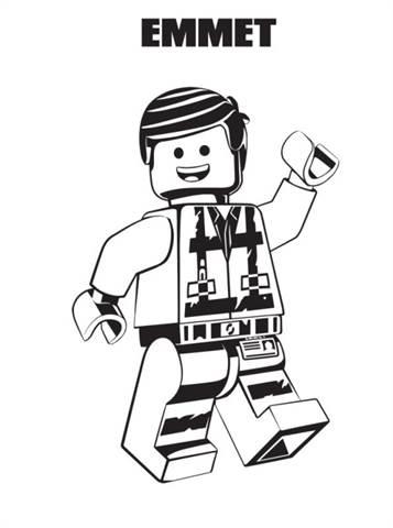 Kids N Funde 13 Ausmalbilder Von Lego Movie 2