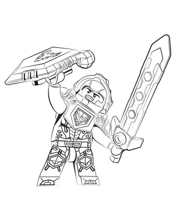 Kids-n-fun.de | 29 Ausmalbilder von Lego Nexo Knights