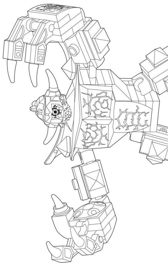 kidsnfunde  malvorlage lego nexo knights lego nexo