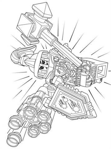 Kids N Funde 29 Ausmalbilder Von Lego Nexo Knights