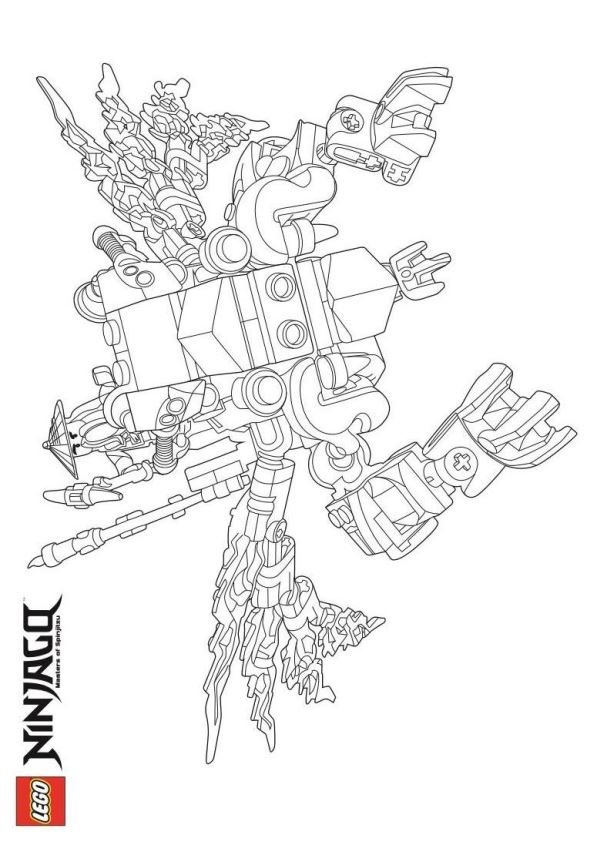 nindroid coloring pages - kids n 42 ausmalbilder von lego ninjago