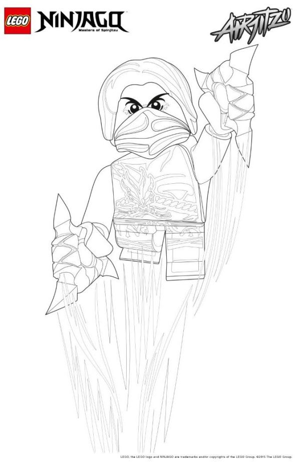 Airjitzu Ninjago Coloring Pages Coloring Pages