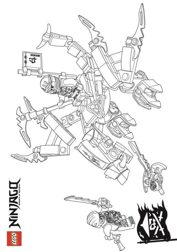 Ausmalbilder Lego Elves Drachen: Ausmalbilder Ninjago Drachen