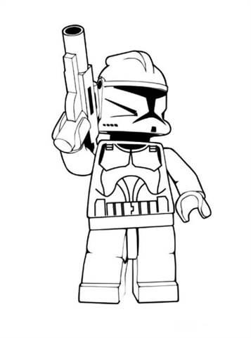 Ausmalbilder Von Lego Star Wars