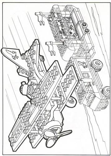 kidsnfunde  42 ausmalbilder von lego