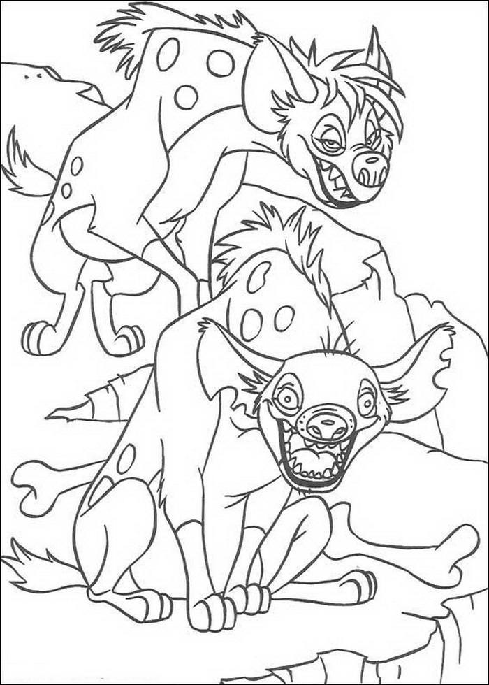 Kids N Fun De 92 Ausmalbilder Von Der König Der Löwen