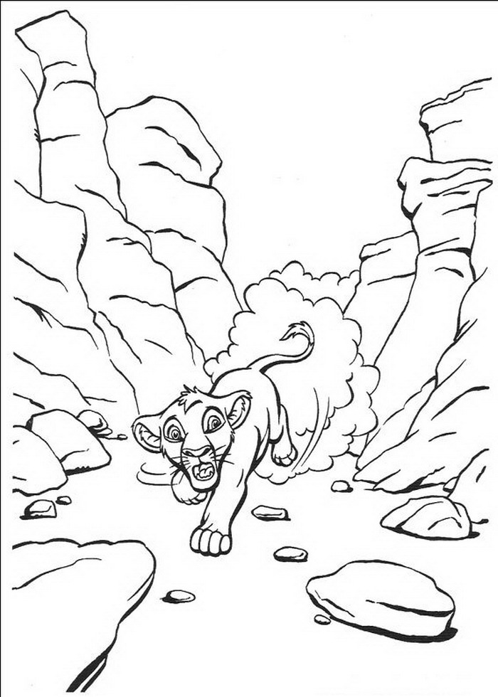 kidsnfunde  malvorlage der könig der löwen der könig