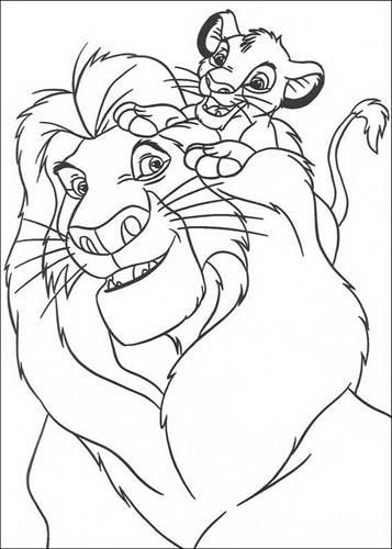 Kids N Funde 92 Ausmalbilder Von Der König Der Löwen