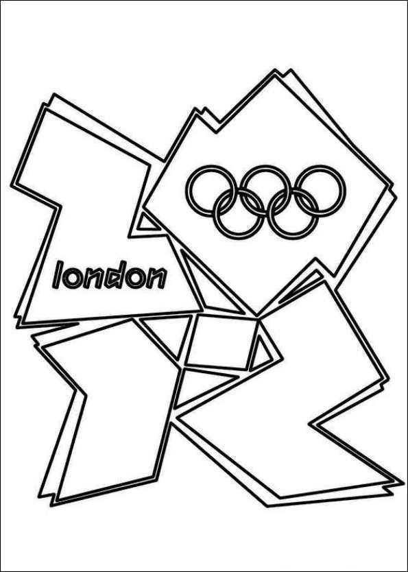 Kids-n-fun.de | 23 Ausmalbilder von Olympischen Spiele London 2012