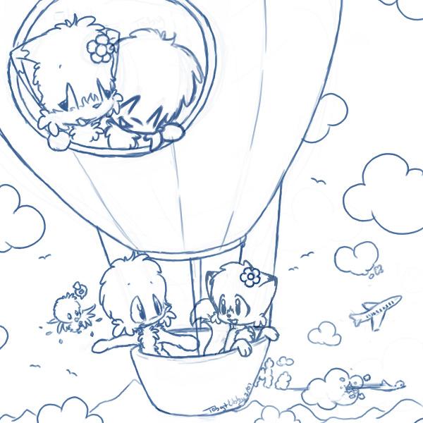 Kids-n-fun.de   11 Ausmalbilder von Luftballons