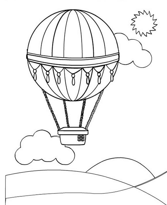 Kids-n-fun.de | 11 Ausmalbilder von Luftballons