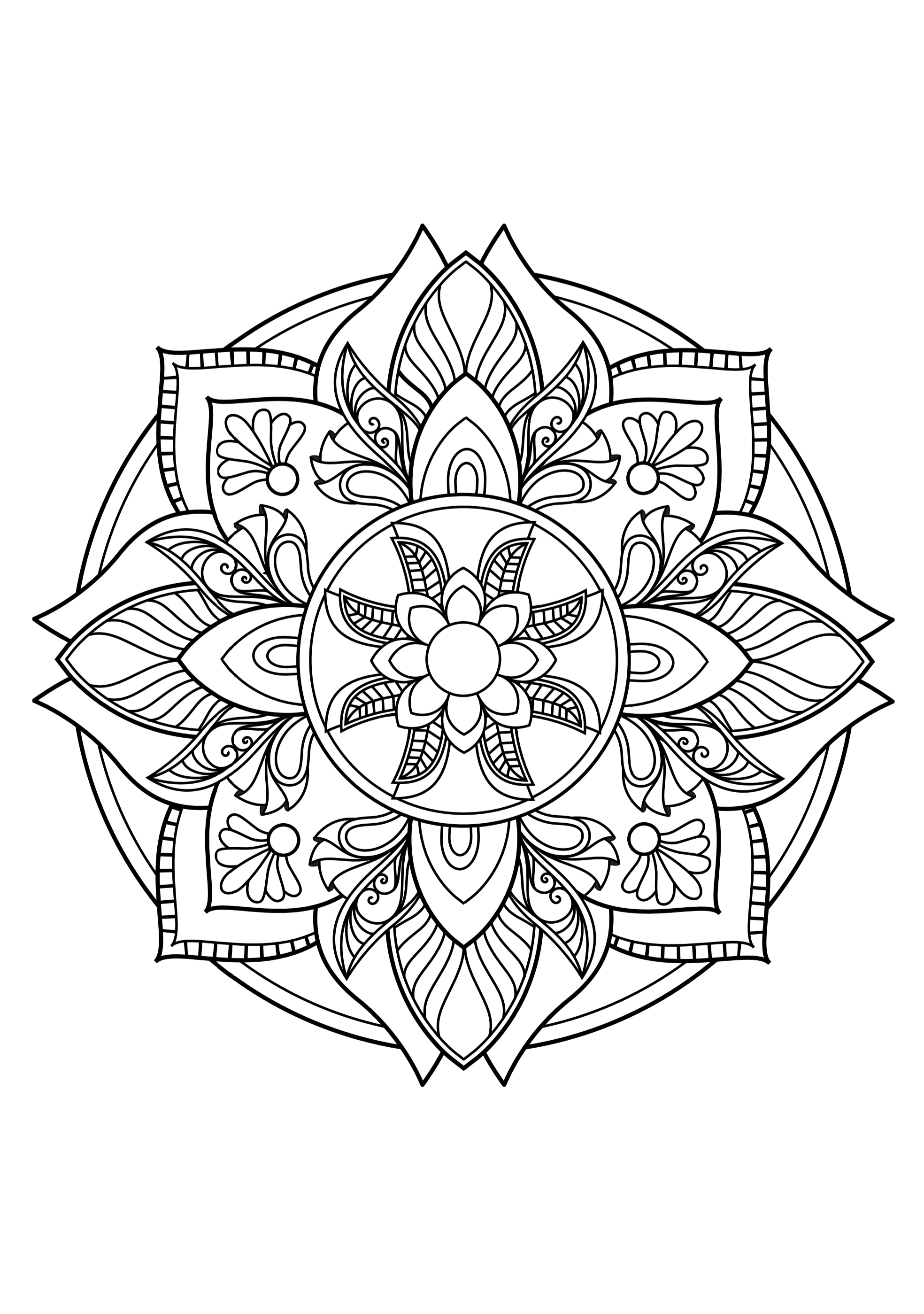 kidsnfunde  malvorlage magic mandalas magic mandalas