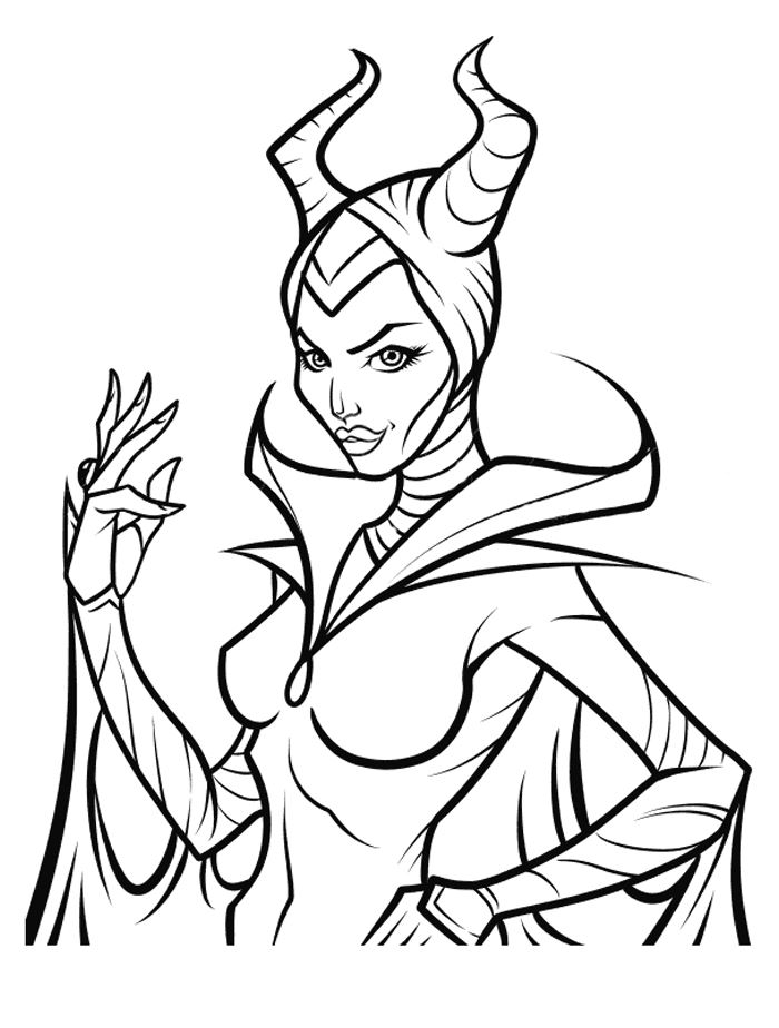 Kids n 11 ausmalbilder von maleficent for Maleficent coloring pages