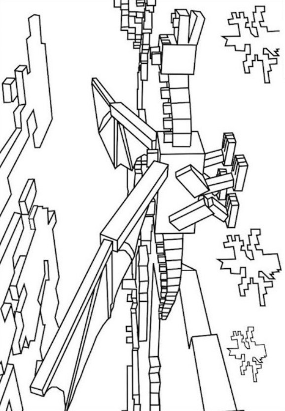 Minecraft Steve Printable Coloring Pages