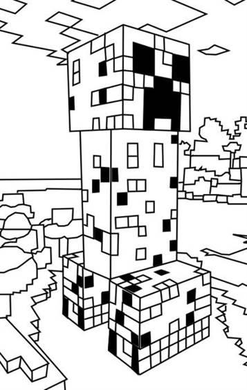 Kids N Funde 19 Ausmalbilder Von Minecraft