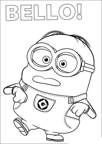 Kids N Funde 36 Ausmalbilder Von Minions