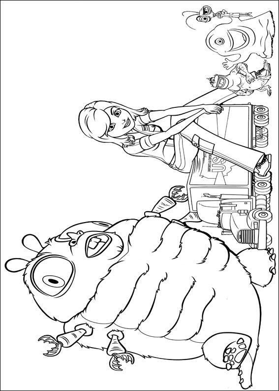 Kids-n-fun.de   21 Ausmalbilder von Monsters vs Aliens