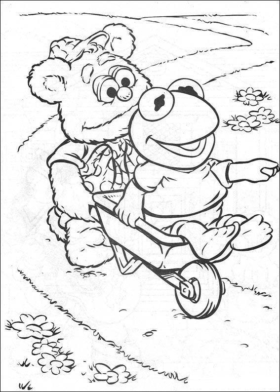 kidsnfunde  malvorlage muppet babies muppet babies