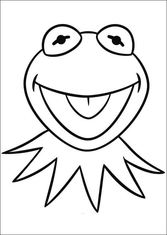 Kids N Fun De 25 Ausmalbilder Von Muppets