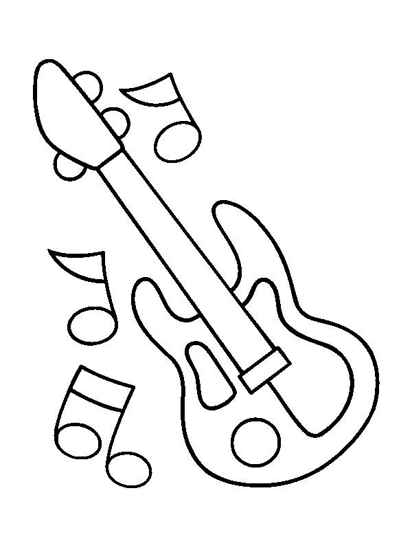 malvorlage verschiedene instrumente  coloring and malvorlagan