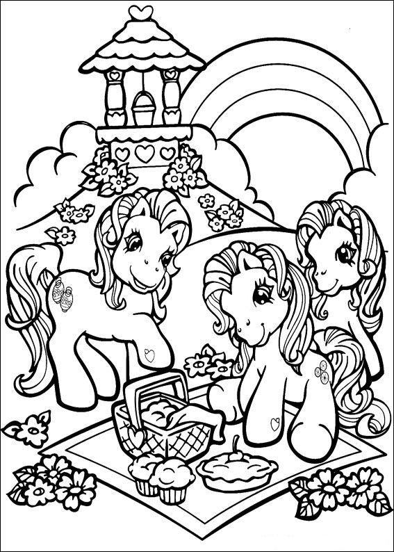 kidsnfunde  malvorlage my little pony my little pony