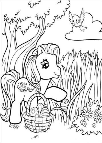 Kids N Fun De 70 Ausmalbilder Von My Little Pony